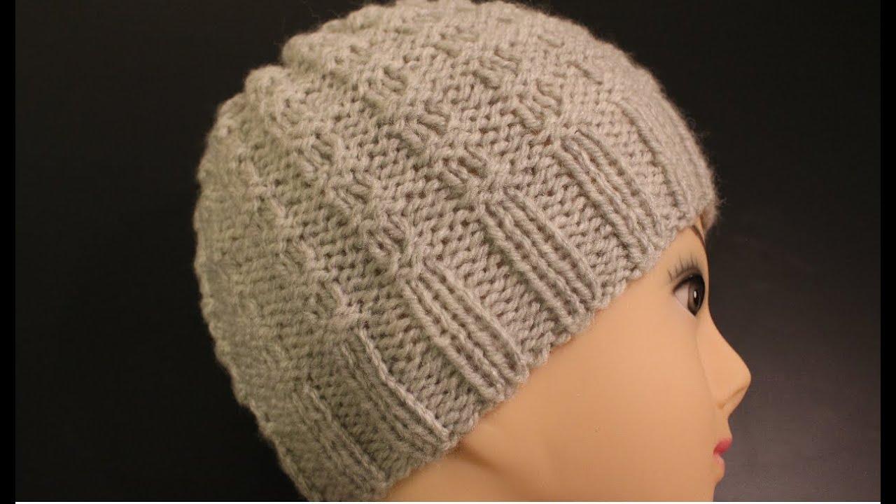 Убавляем в вязанных шапках 86