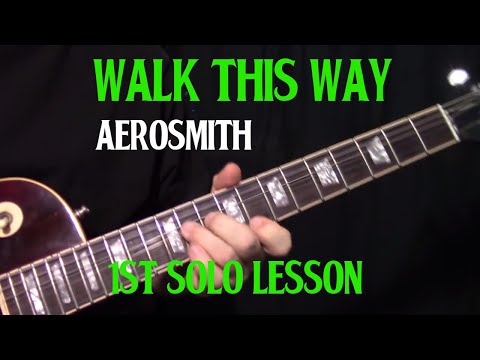 Aerosmith - Walk this way 1st