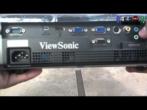 Viewsonic pjd5134 instructions