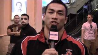 Olympia 2010 - Hidetada post press conference