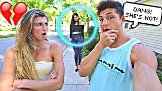 CHECKING OUT OTHER GIRLS IN FRONT OF MY GIRLFRIEND!! *BAD IDEA*