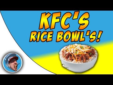 KFC's Rice Bowl's! - Food Review!