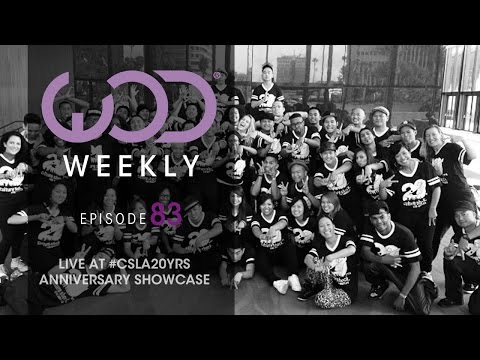 Culture Shock LA 20 Year Anniversary | #WODWeekly 83