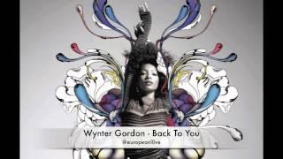 Watch Wynter Gordon Back To You video
