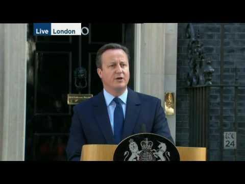 Speech David Cameron 24 juni 2016 Brexit