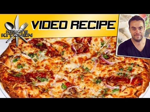 CHICKEN PIZZA - VIDEO RECIPE