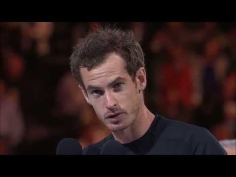 Andy Murray's runner-up speech - Australian Open 2015