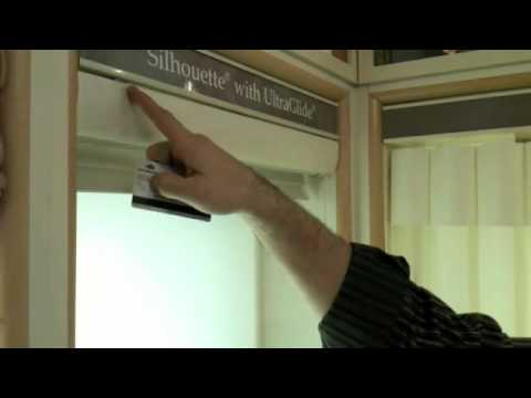 Hunter Douglas Silhouette Remove And Re Install Video