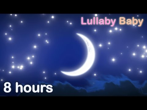 ☆ 8 HOURS ☆ BRAHMS LULLABY for babies to go to sleep ♫ Baby music to sleep
