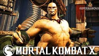 "GORO WITH THE INSANELY BRUTAL FINISH... - Mortal Kombat X: ""Goro"" & ""Erron Black"" Gameplay"