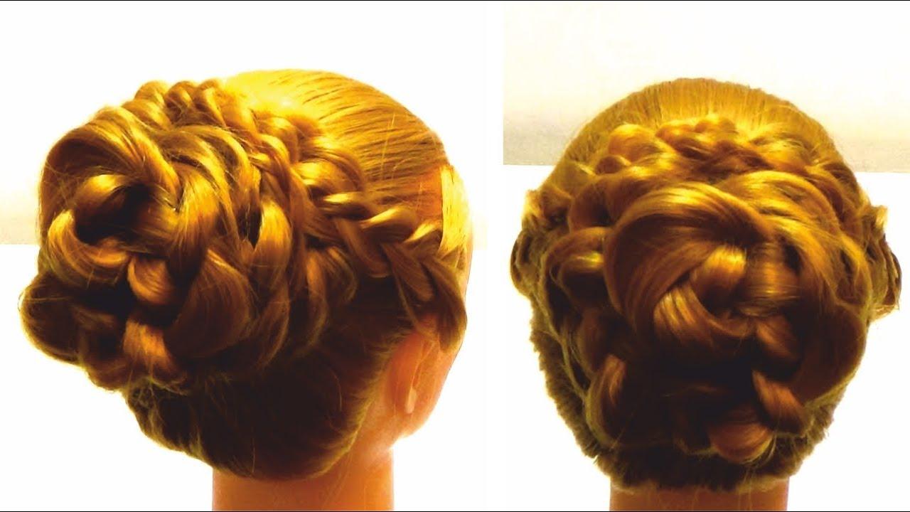 Прически плетение на длинные волосы своими руками