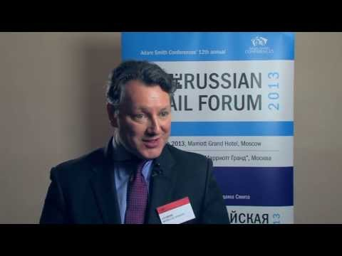 Interview with Jan Heere, International Director, Marks and Spencer at the Russian Retail Forum 2013