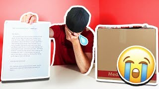 OPENING MYSTERY FAN MAIL *EMOTIONAL*