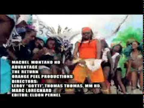 Machel Montano-Advantage Official Video(SOCA 2011)