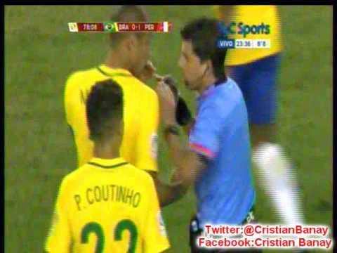 Peru 1 Brasil 0 (Relato Leo Gentili)  Copa America Centenario 2016