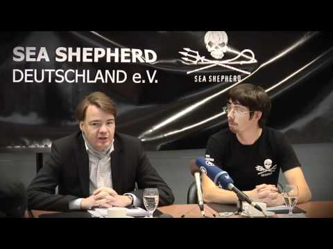 Sea Shepherd // Press Conference // Germany Frankfurt Airport