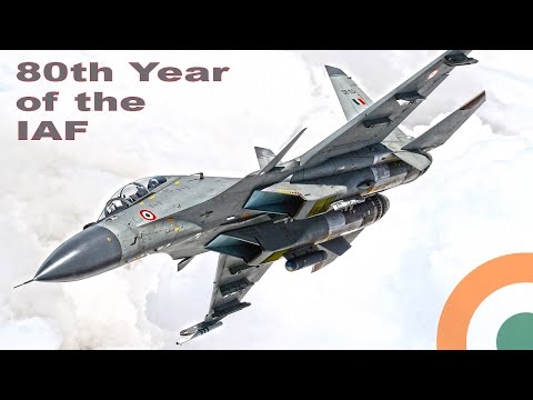 80th Year Of The Indian Air Force video