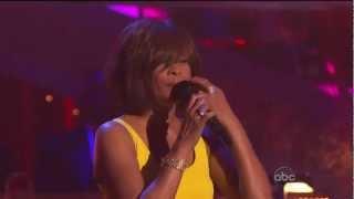 Whitney Houston Dwts 34 I Wanna Dance With Somebody 34 Youtube