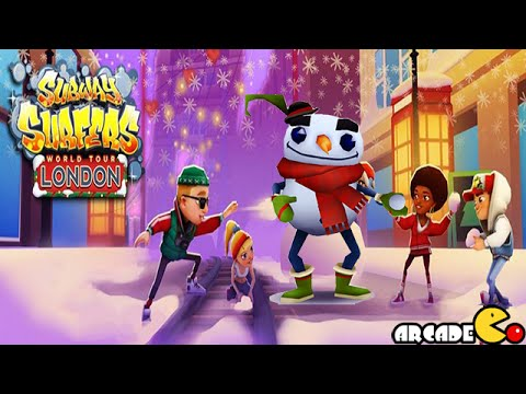Subway Surfers - NEW Character Christmas Holiday Update Gameplay