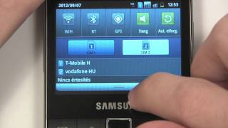 Samsung Galaxy Y Pro DuoS (B5512) unboxing and hands-on