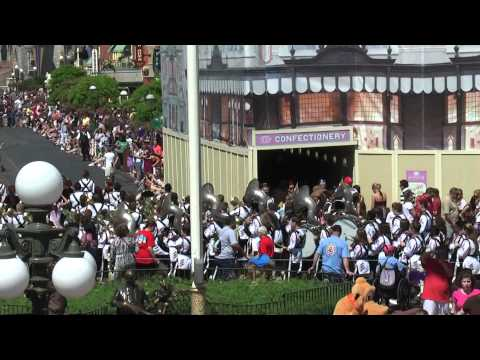 Rusk High School Band - Disney World 2011