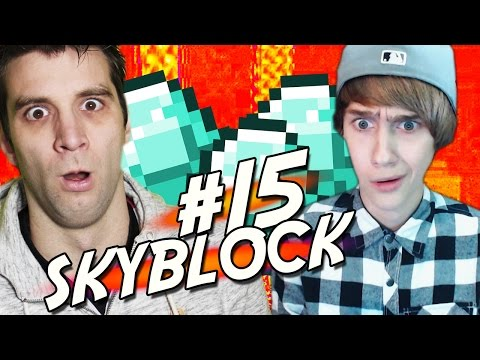 ONZICHTBARE TRIPLE CHESTS?!! Minecraft - Skyblock #15