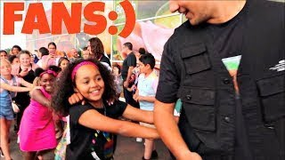Toys AndMe Fans Conga Dance Challenge!i Meet And Greet