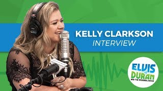 Download Lagu Kelly Clarkson On Hating Pregnancy, The Voice, And Making Music She Likes | Elvis Duran Show Gratis STAFABAND