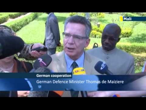 Germans back EU Mali mission: Thomas de Maiziere pledges post-conflict support to Mali