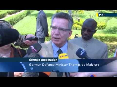 Germans back EU Mali mission: Thomas de Maiziere pledges post-conflict support to Mali