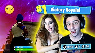 1 KILL = 1 DARE ft. Molly Eskam (Fortnite: Battle Royale)