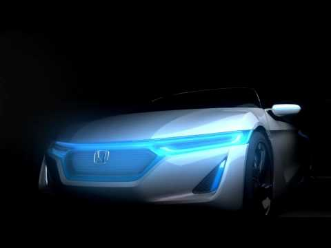 Honda EV-STER animation