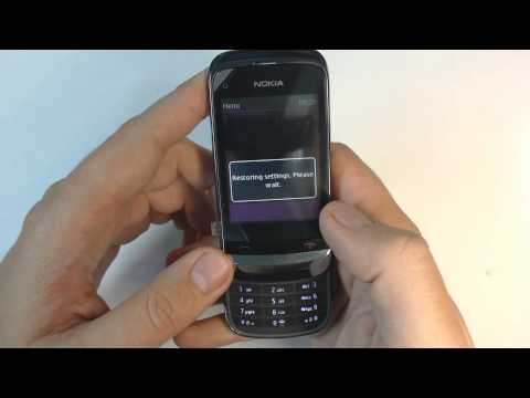Nokia C2-06 - How to reset - Como restablecer datos de fabrica