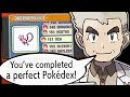 What Happens When You COMPLETE The Pokedex in Every Pokemon Game?