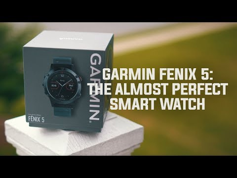 Garmin Fenix 5: The Almost Perfect Smart Watch (Garmin Feinx 5 Review)