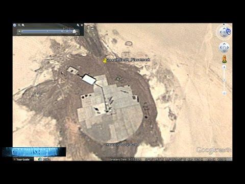 FOUND IT!! AREA 51 Millennium Falcon TR3-B LANDING PLATFORM DISCOVERED!? UFO GOOGLE MAPS 5/17/2016