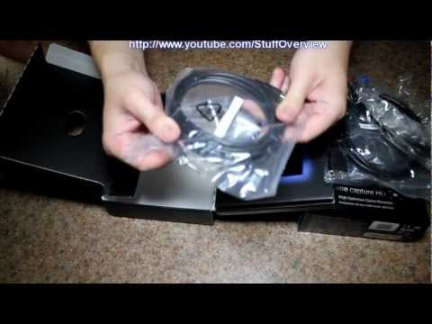 Elgato Game Capture HD PlayStation 3 / Xbox 360 Recorder for Mac and PC Unboxing and Review