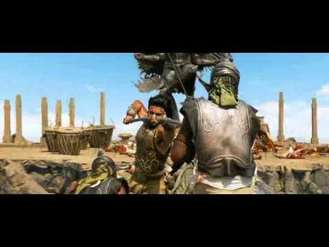 Бой против ста (из фильма Великий воин)