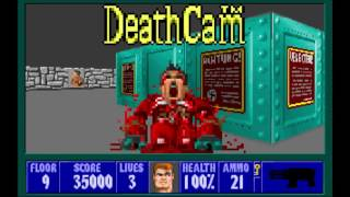Wolfenstein 3D - All Bosses and How to Kill Them!!!!
