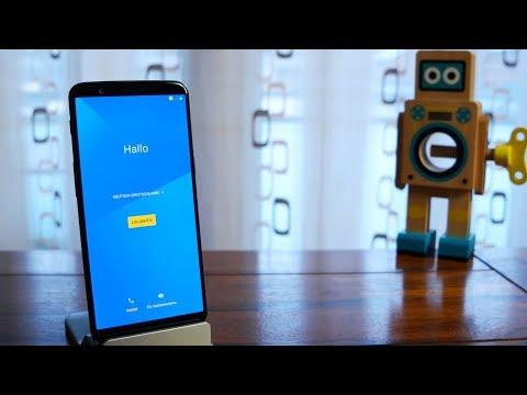 OnePlus 5T - Erste Schritte und Einrichten der Gesichtserkennung