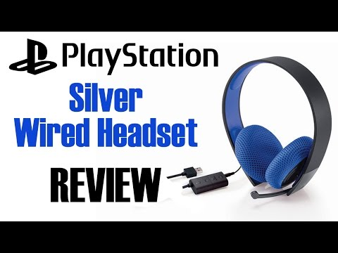GIVEAWAY!! Sony Playstation Silver Wired Headset Review