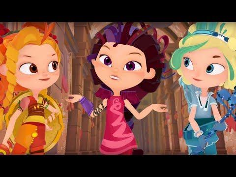 Сказочный патруль - Подарок подземелья -  Серия 14 - мультик о девочках-волшебницах