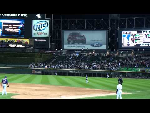 Adam Dunn hits 3 run homer to put Sox ahead of the Indians 5-3 9/24/2012