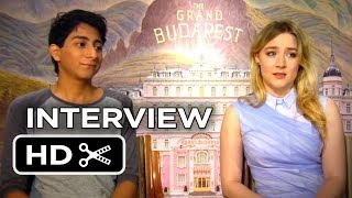 The Grand Budapest Hotel Interview - Tony Revolori, Saoirse Ronan (2014) - Comedy Movie HD