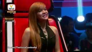 The Voice Cambodia - កែវ ប៊ុធា VS នួន វុទ្ទី - ខំហាមចិត្តដែរតែមិនឈ្នះ - 14 Sep 2014