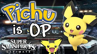 PICHU IS OP! - Smash Bros. Ultimate Montage