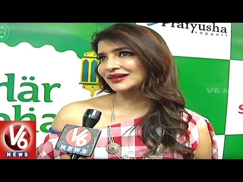 Lakshmi Manchu Face To Face, Reveals About Her Upcoming Movie | V6 News