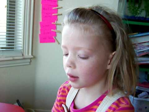 Teach your child to read youtube messages