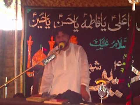 Zakir Mushtaq Shah Jhang (Jalsa Talagang 17 18 Sep 2011)