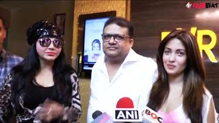 Rakhi Sawant promotes Riya Sen, Mahima Chaudhary's Dark Chocolate, watch video | Filmibeat